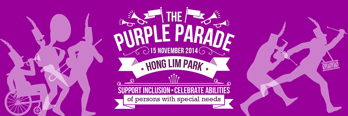 The Purple Parade 2014