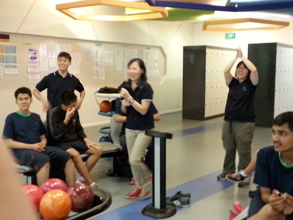 Track V Term Outing To Toa Payoh Superbowl