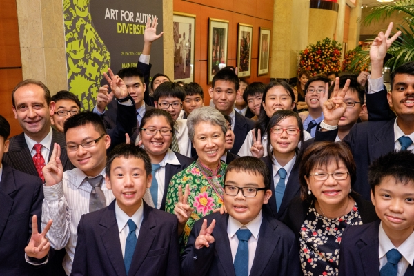 Pathlight School Celebrates Talents Of Students With Autism With Inaugural Public Art Exhibition At The Fullerton Hotel