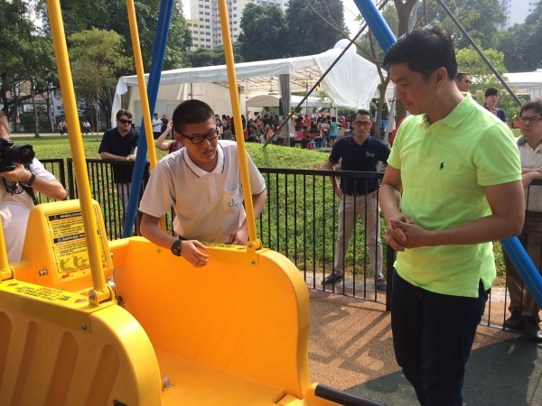 Pathlighters as ambassors of newly launched Inclusive Playground