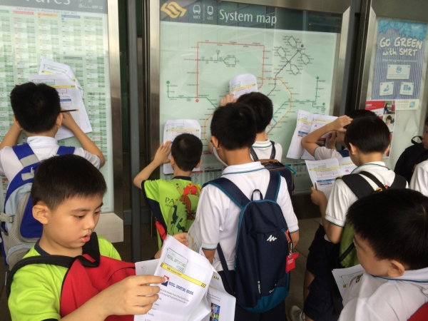 Math Trail For Primary 3 Students