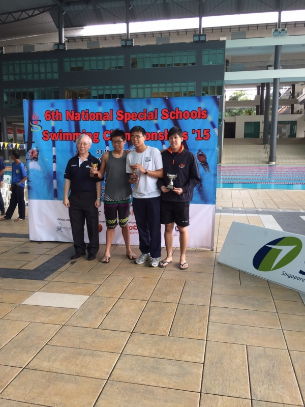 SDSC 6th National Special Schools Swimming Championships 2015
