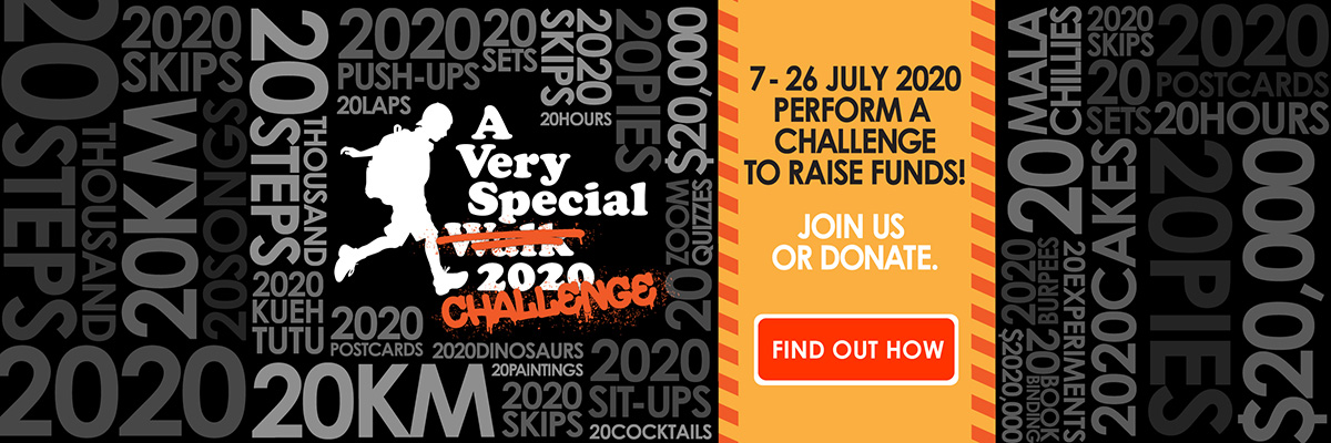 A Very Special Challenge 2020