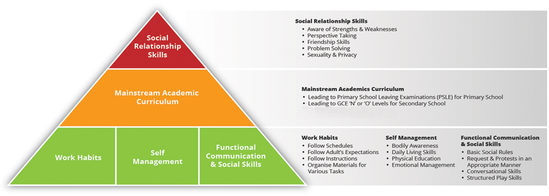 Curriculum Framework for Primary & Secondary Students