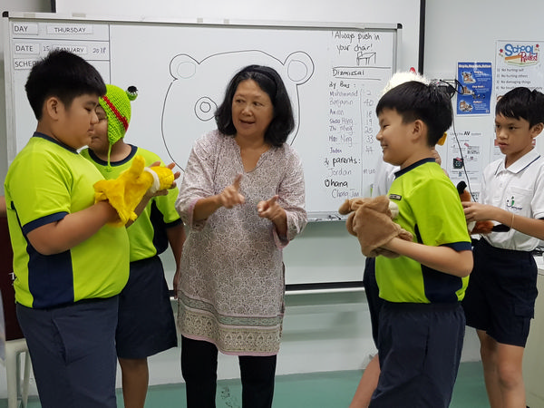 School Calendar Singapore 2018 : Molly the mobile library visited pathlight school