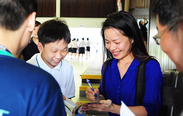 Award-Winning Violinist Kam Ning Visits Pathlight School
