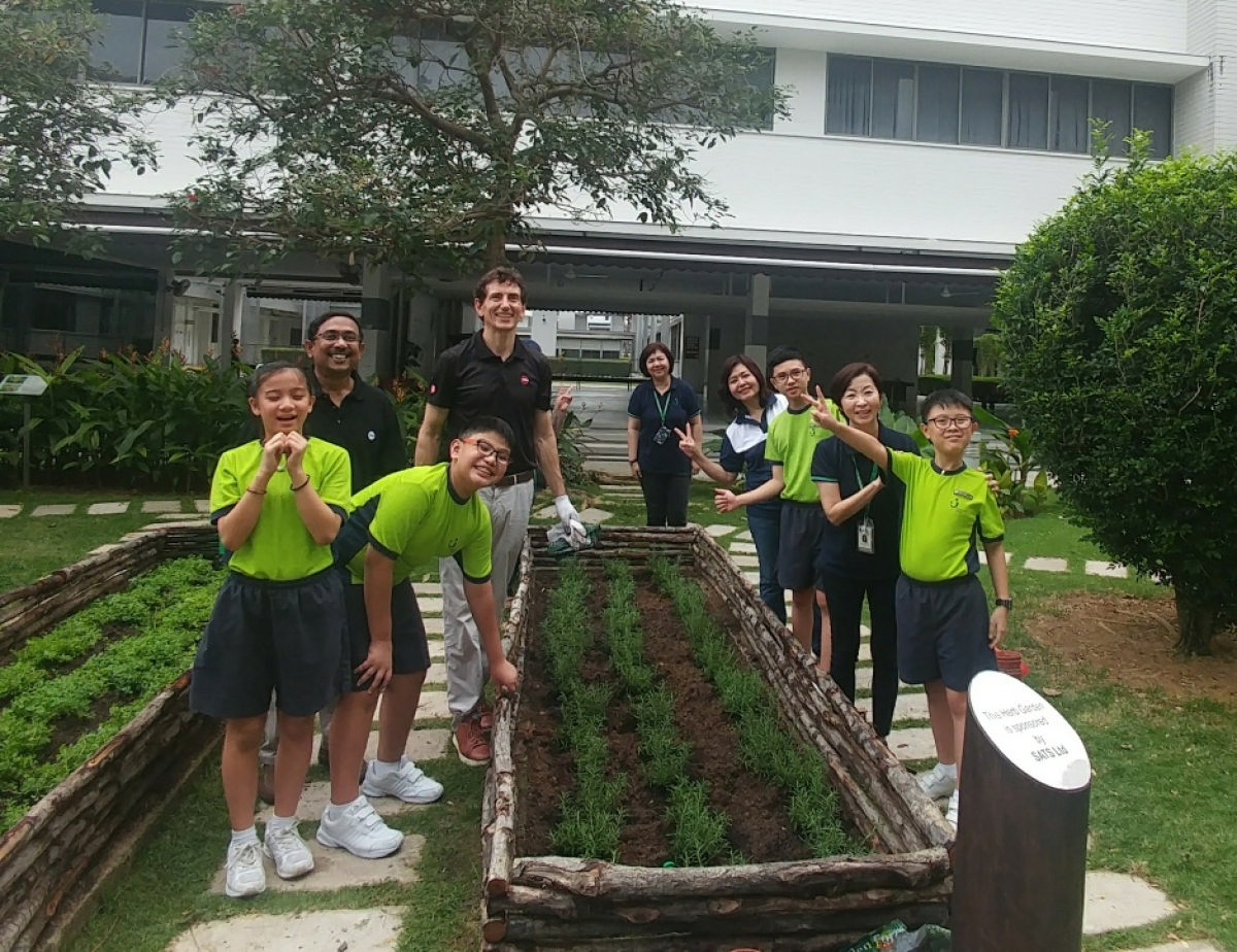 Herb Garden To Enable Learning & Engage The Senses