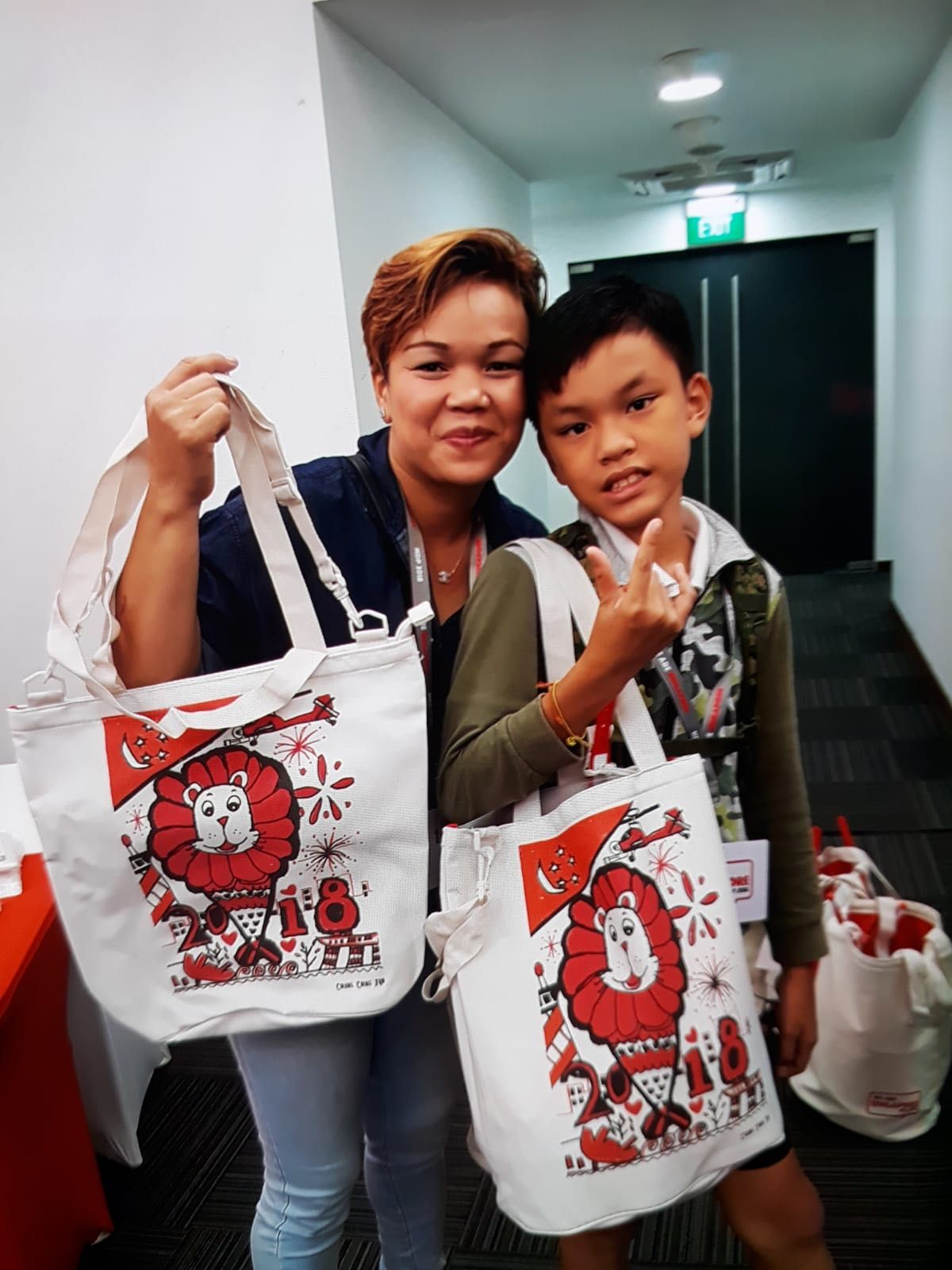 Pathlight Student one of 18 NDP Tote Bag Designers