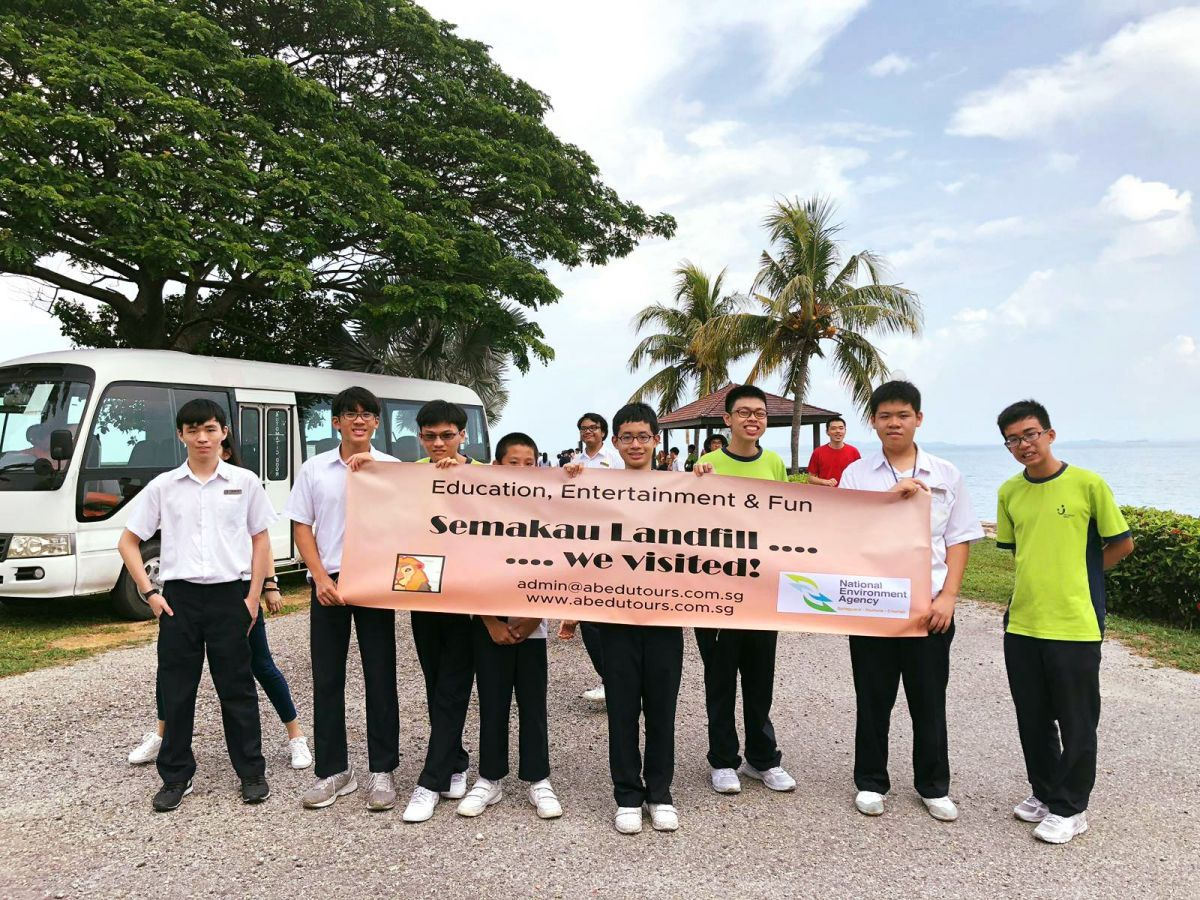 Eye-Opening Offshore Learning Journey to Semakau Landfill