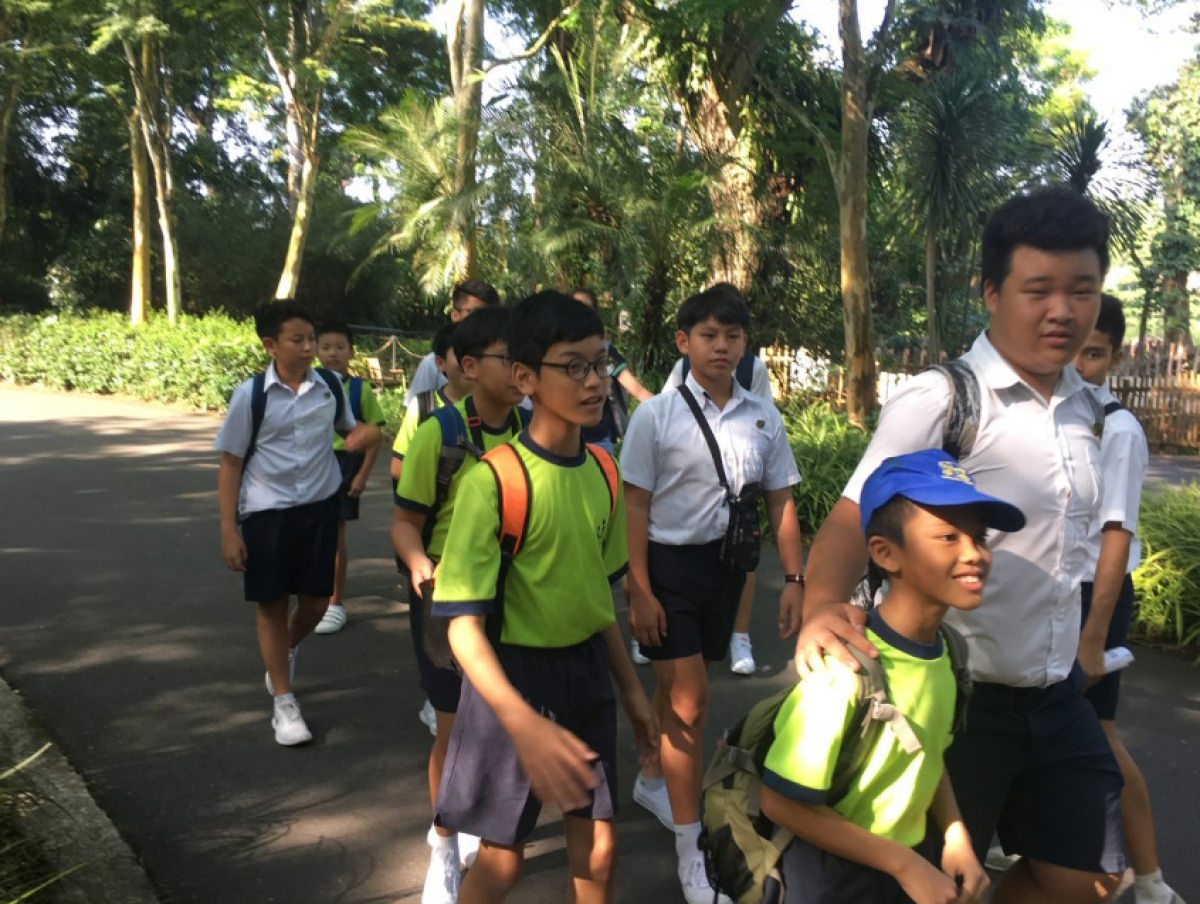 Wildlife Buddy Programme Brings ACSians and Pathlighters Together